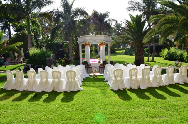 Ceremony at the Costa Meloneras Hotel