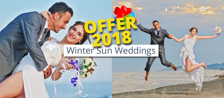 WINTER SUN WEDDING OFFER  lanzaroteweddingscom